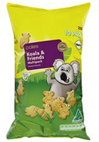 coles koala and friends biscuits