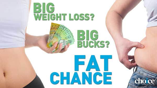 Big weight loss? Big bucks? Fat chance