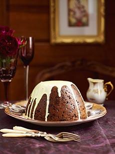 Harrods make your own christmas pudding cake