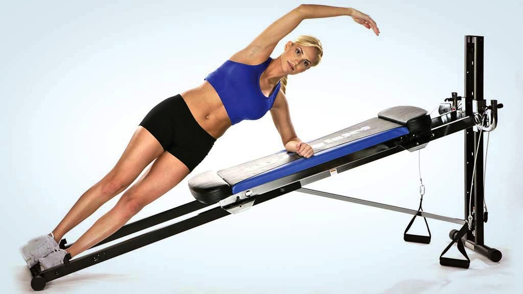 Infomercial exercise equipment test and reviews home gyms