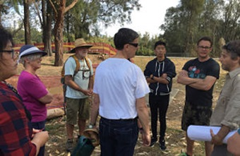 choice staff being briefed at cooks river
