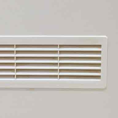 ducted or reverse air con vent square