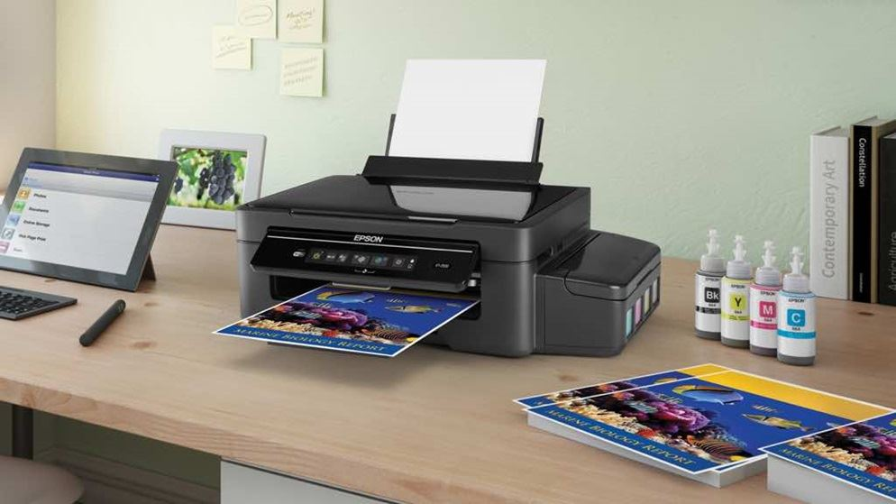 Data Transmission Between Inkjet Printers And Computers