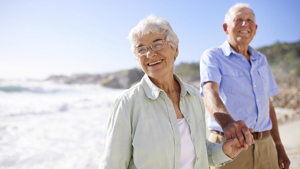 Old age pension couple australia