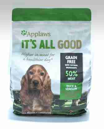 applaws dog food pack shot