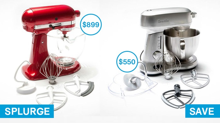 splurge and save_stand mixers