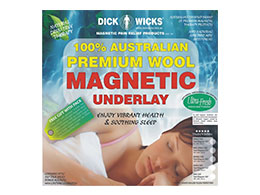 shonkys Dick Wicks magnetic wool underlay