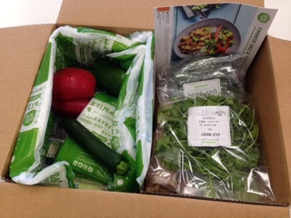 packaging and Hello Fresh
