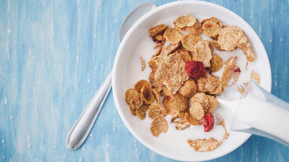 Cereals for breakfast