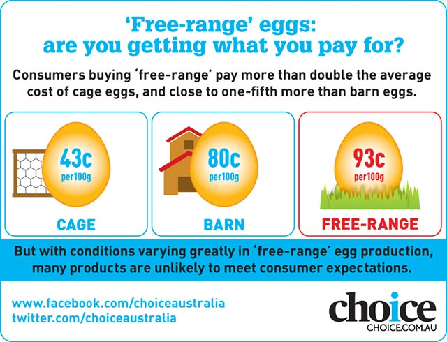 free range egg costs