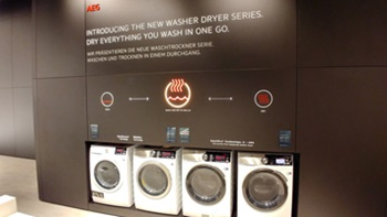 AEG washer dryers