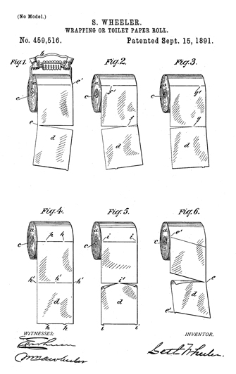 toilet paper patent-1 illustration