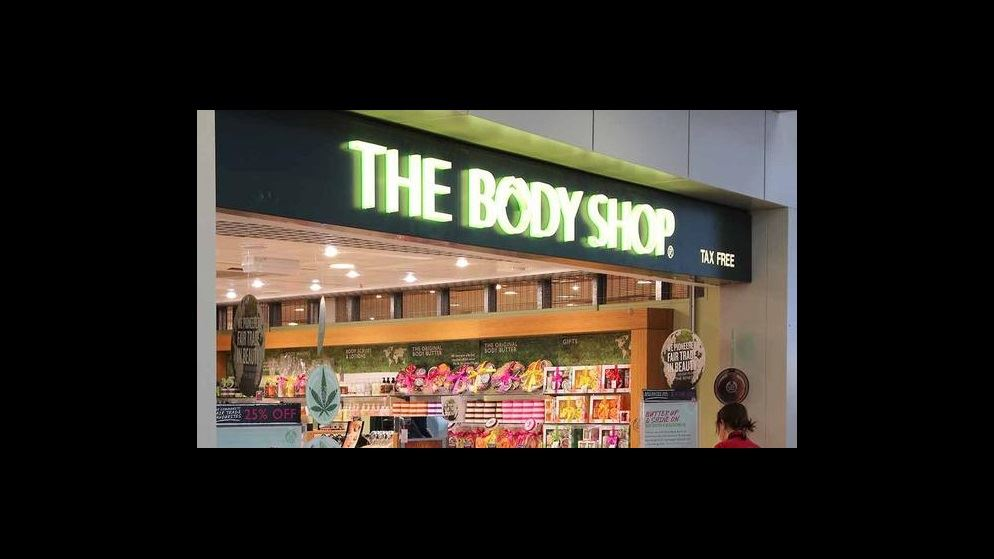 the body shop sells out