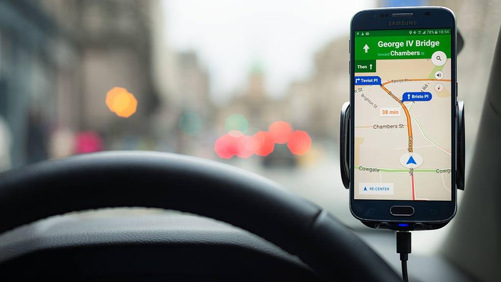 Google Maps Apple Maps and Waze