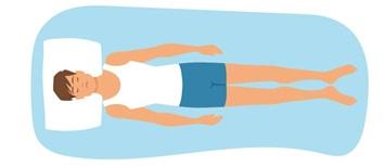 styles de sommeil dormeur sur le dos