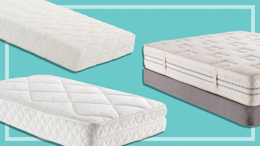 three different mattresses