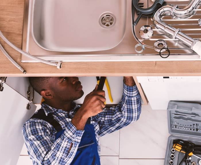fixing the kitchen sink