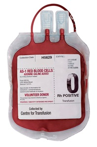 blood bag cheaper than ink