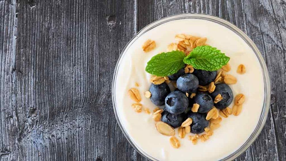 greek_yoghurt_with_blueberries_on_wooden_table