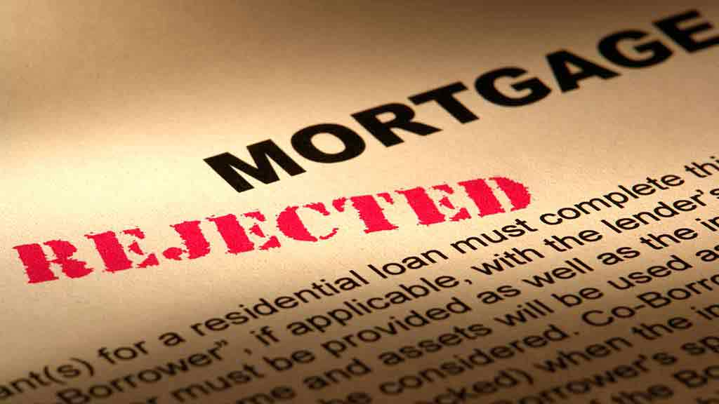mortgage rejection notice
