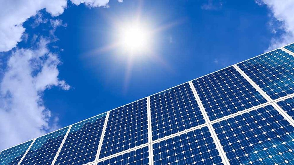 solar panels and sky solar and battery storage lead