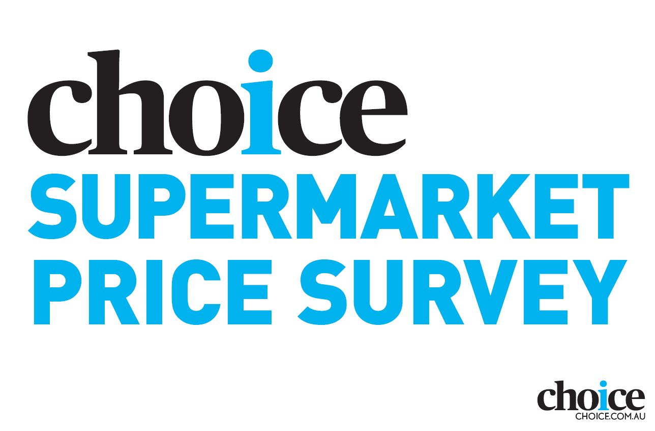 CHOICE supermarket price survey
