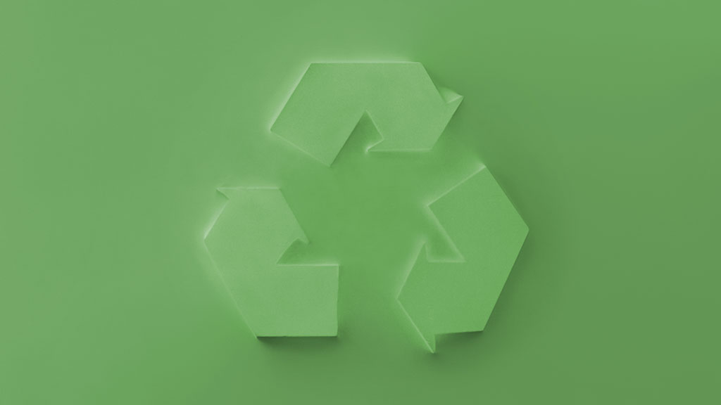 green sustainability symbol
