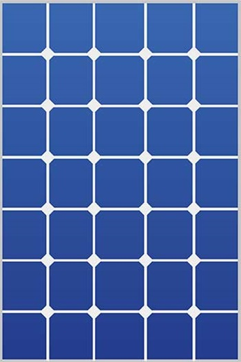 This is an illustration of a solar PV panel