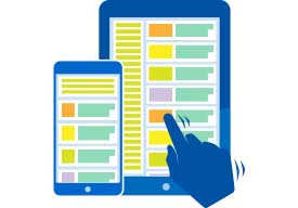 Mobile and tablet view user testing