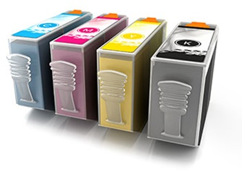 four colour printer ink cartridges