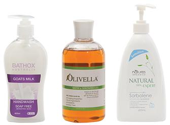 Bathox Goat milk handwash, Olivella wash, Natures Organics