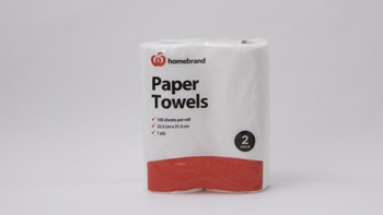 Woolworths Homebrand Paper Towels