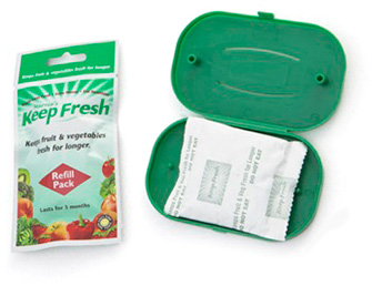 KeepFresh refrigerator cartridge with refill