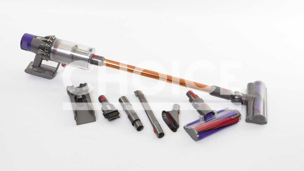 Dyson Cyclone V10 stick vacuum review - CHOICE