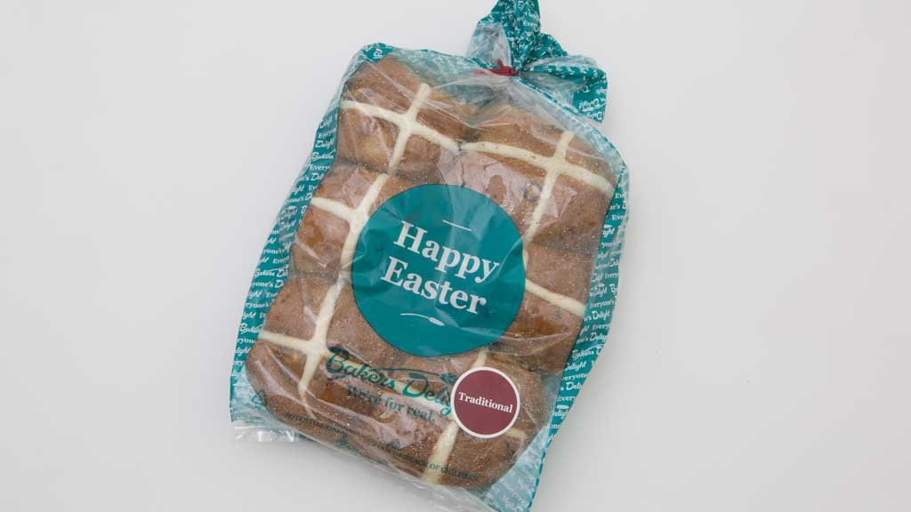 Baker's Delight hot cross buns