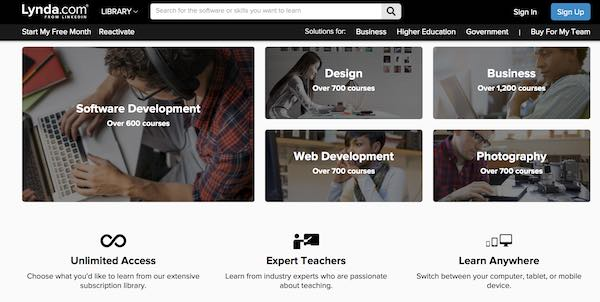 Study online with Udemy, edX, Lynda, MasterClass and more - CHOICE