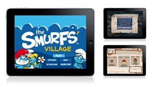Smurfs Tablet